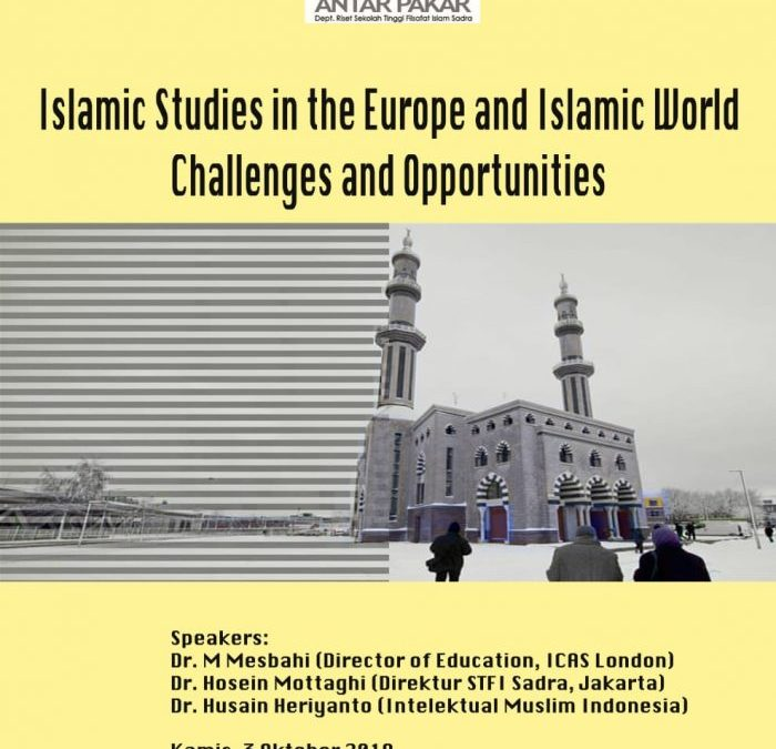 Islamic Studies in The Europe and Islamic World
